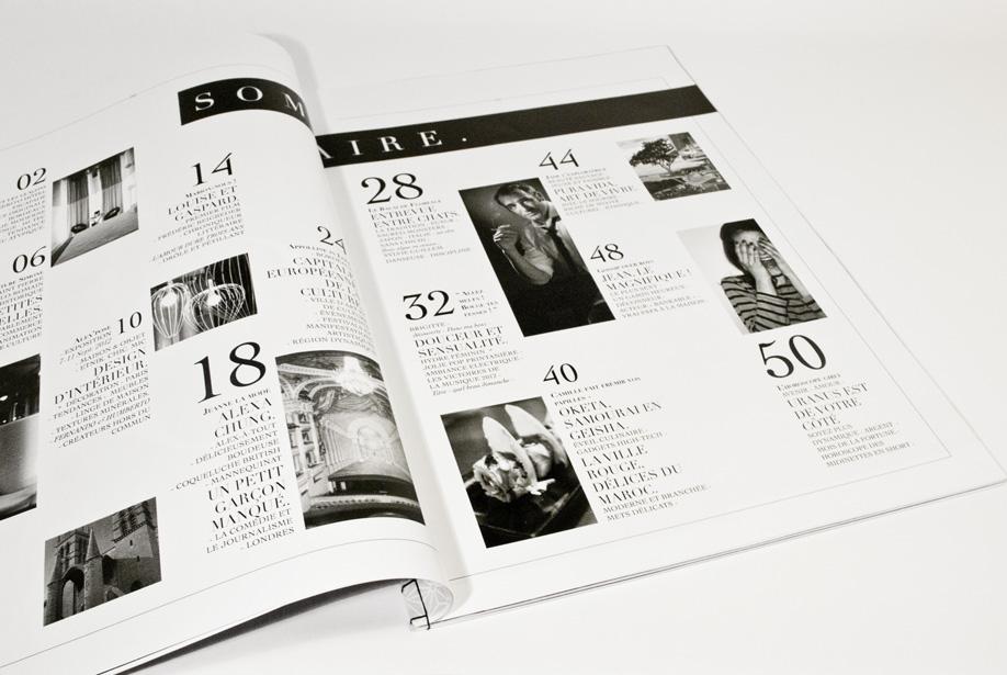 Journal - sommaire