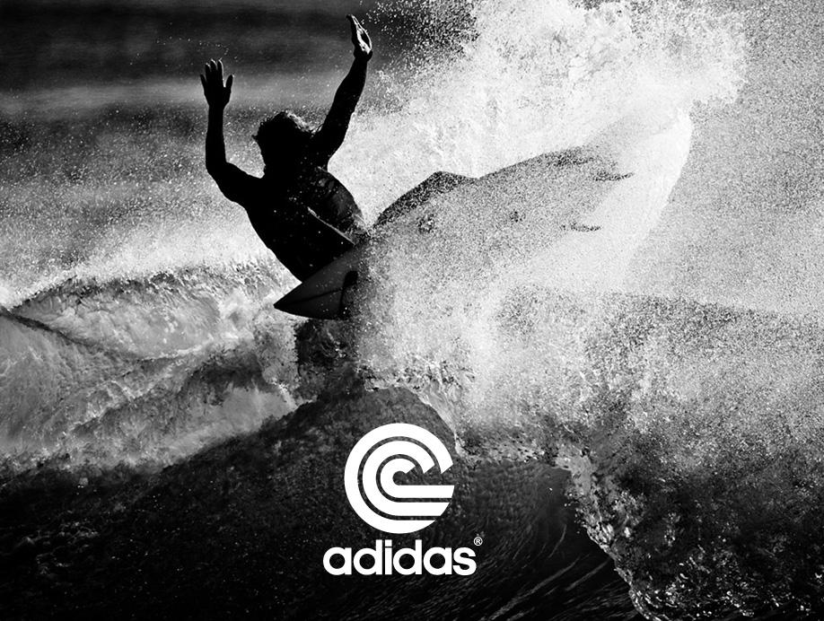 Identité du département surf d'adidas